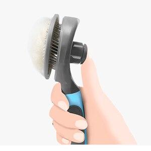 Image 4 - Youpin pet gato escova de remoção do cabelo pente pet grooming ferramentas cabelo derramamento trimmer pente para gatos