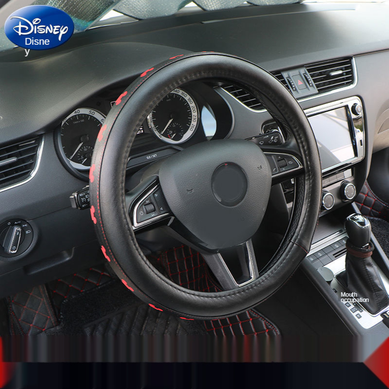 Disney Mickey Mouse Car Steering Wheel Cover Four Seasons General Summer Anti-skid Handle Cover Tide Brand Personality