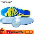 VAIPCOW ортопедические силиконовые гелевые спортивные стельки ортопедические подушки уход за ногами стабильность поддерживает пятку для бол...