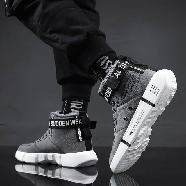 Mens Boots High Top Sneakers 6