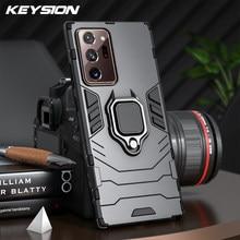 KEYSION – coque blindée antichoc en Silicone pour Samsung, compatible modèles Note 20, 20 Ultra, Galaxy Note 20 + Plus