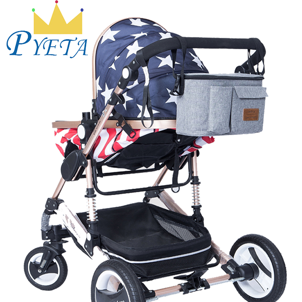 PYETA New Arrival Baby Stroller Bag For Baby Stuff Organizer,Diaper Bag For Mom Travel,Nappy Bag For Baby Accessory Storage