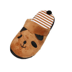 Warm Slippers Female Shoes Femmes Soft Winter Cartoon Indoor Lovely Panda Home Floor