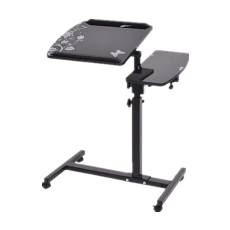 Computer Desk Portable Laptop Table Adjustable Standing Desk Computer Notebook Stand On Bed Office Table Notebook Desks
