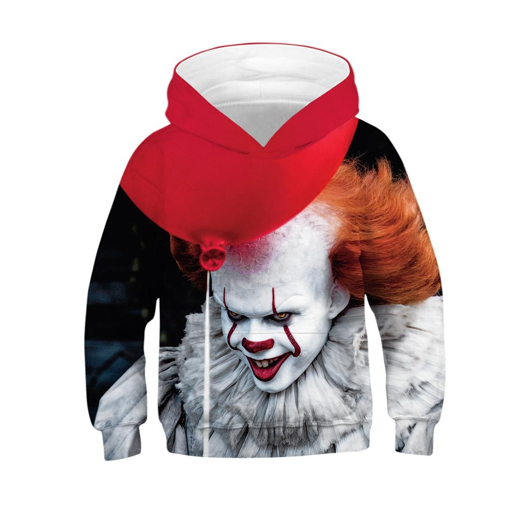 Kids Hoodie Sweatshirts Joker Oversized Girls Teen Boys Pullover Printed Casual 3D 2 title=
