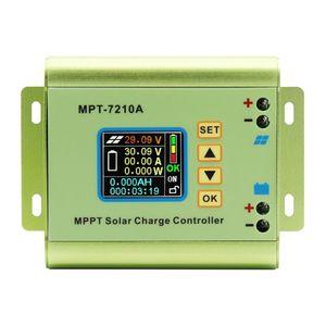 LCD Display MPPT Solar Charge Controller for Lithium Battery 24V / 36V / 48V / 60V / 72V Battery Pack Output 0-10A MPT-7210A(China)