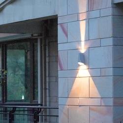 Top oświetlenie naścienne led ze stali nierdzewnej do użytku zewnętrznego i wewnętrznego kinkiet światło zewnętrzne wodoodporna ciepła  jasna 8W|Lampy ścienne|   -