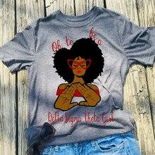 Camiseta con estampado de Delta Sigma Theta Grils para mujer, camiseta informal de manga corta con cuello redondo, blanco y gris