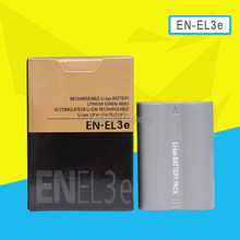 Batterie de caméra EL3e ENEL3e, pour Nikon D90 D80 D300 D300s D700 D200 D70 D50 D70s D100