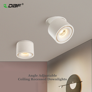 Image 1 - Foldable 360 Degree Rotation LED Ceiling Spot Lights 7W 10W 12W 15W LED Downlight Surface Mounted for For Kitchen Bathroom Light