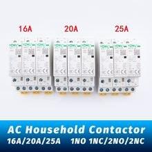 Контактор переменного тока 220 В 230 50/60 Гц бытовой модульный