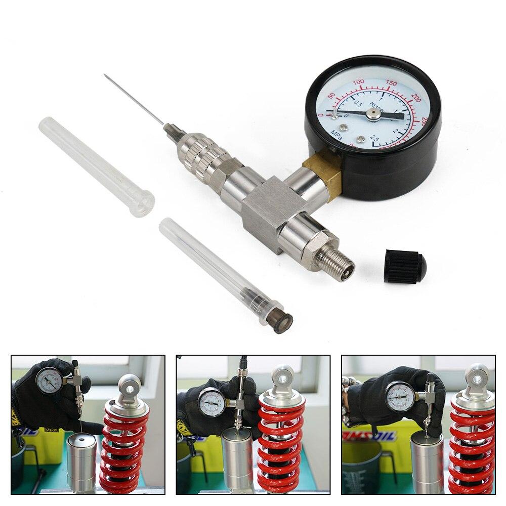 Kit de herramientas de relleno de aguja de nitrógeno de choque a prueba de sacudidas 350 PSI 2.5MPA acero inoxidable