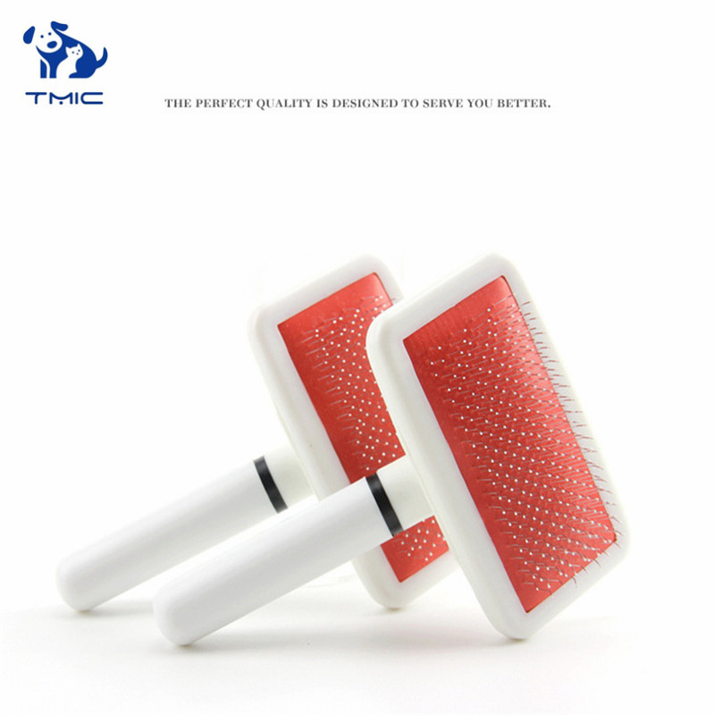 1 Pcs Multi-purpose Needle Comb For Dog Cat Yokie Puppy Pets Comb Brush Dog Hair Remover Rake Comb Pet Beauty Grooming Tool