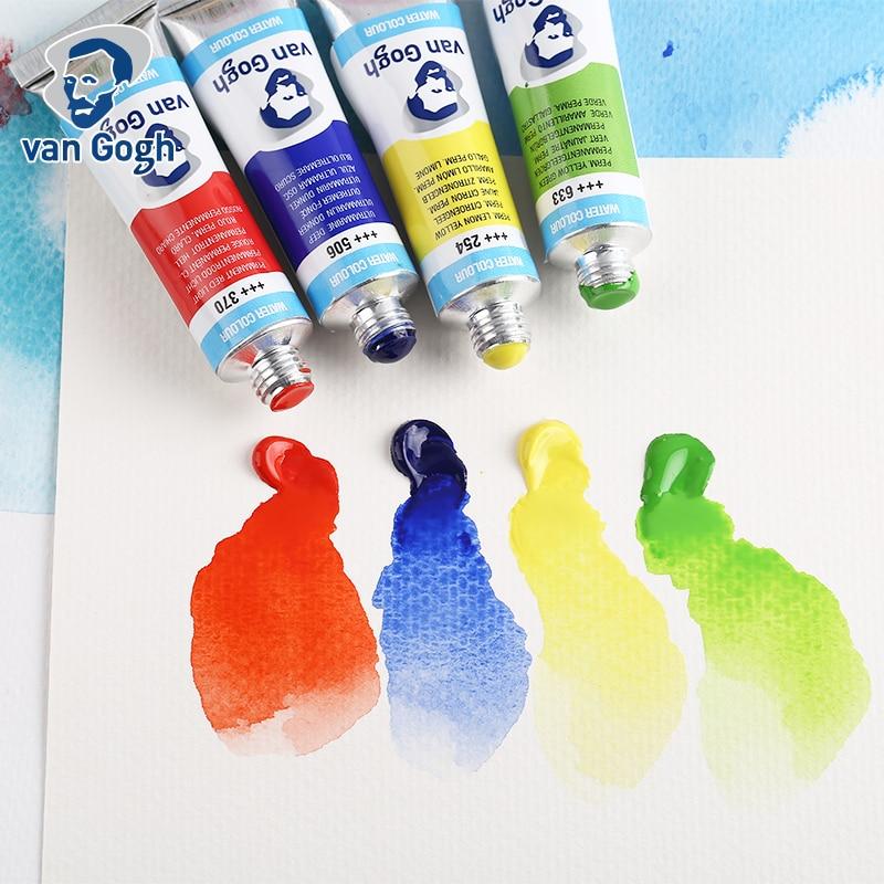 Van Gogh Watercolor Paint Tube 10ml 40 Colors Professional Water Color For  Painting Aquarel Aquarelle Art Supplies|Water Color| - AliExpress