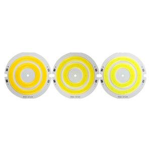 Image 5 - 3V 4V rond COB lumière LED 50mm diamètre Double anneau blanc froid lampe à LED 3.7V 5W 7W COB puce ampoule pour bricolage travail maison décor lumières