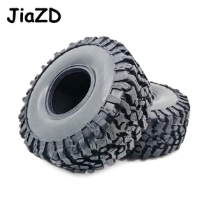 Image 5 - 4PCS 120MM 1.9INCH Rubber Rocks Tyres Wheel Tires for 1:10 RC Rock Crawler Axial SCX10 90047 D90 D110 TF2 For TRX 4 W121