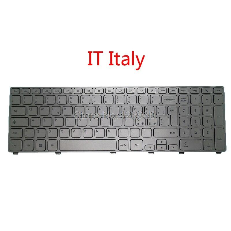 For Laptop Keyboard Dell Inspiron 17 5748 5749 5755 5758 KPP2C Frame