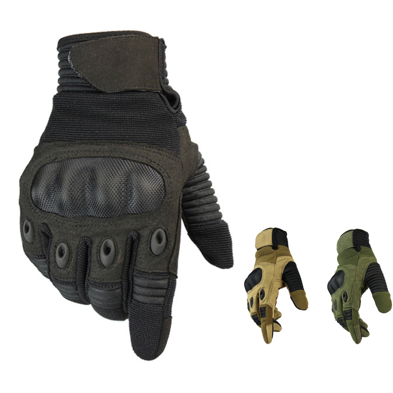 Men Touch Screen Military Tactical Gloves Army Paintball Shooting Airsoft Combat Anti-Skid Hard Knuckle Full Finger Gloves
