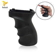 TOtrait Tactical Polymer Airsoft Pistol Grip For QD Picatinny Rail Vertical Grip Folding Bipod Grip Handle Foregrip Hunting
