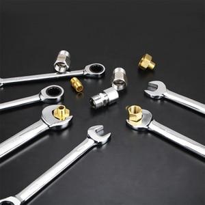 Image 3 - קבוע ראש מפתח ברגים סט מחגר 72 שיניים רכב תיקון כלים יד כלי סט מפתחות מחגר ברגים אוניברסלי קרקוש מפתח ברגים