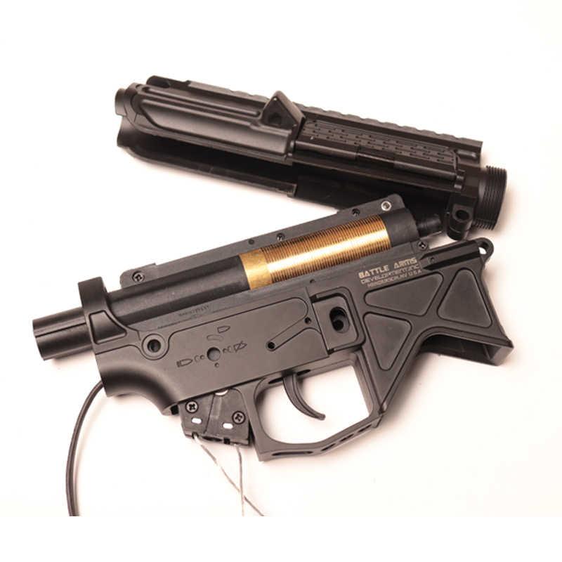 Аксессуары для игрушечного пистолета, код X, нейлон BD556, расширенный приемник, болт-переноска + нейлоновая коробка передач No. 2 для Jinming 9 M4A1 Wbb, гелевая пескоструйная обработка