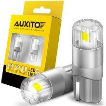 2x nenhum erro t10 lâmpadas led w5w marcador lateral luz de estacionamento lâmpada da placa de licença para nissan qashqai almera juke tiida x-trail nota j11