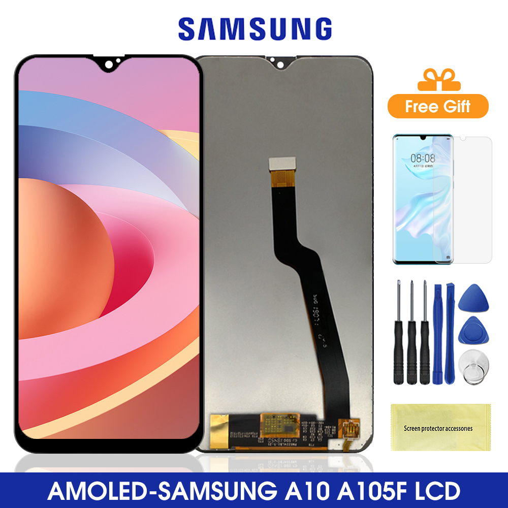 6.2'' Original A10 2019 <font><b>Lcd</b></font> display For <font><b>Samsung</b></font> A105 A105F <font><b>LCD</b></font> Display Touch Screen Digitizer Assembly For <font><b>Samsung</b></font> <font><b>M10</b></font> M105 <font><b>LCD</b></font> image