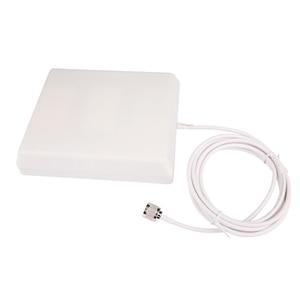 Image 3 - 700 2700Mhz GSM 2G 3G 4G LTE anten 10dBi kazanç kapalı Panel dahili anten 3m kablo için mobil/cep telefonu sinyal güçlendirici