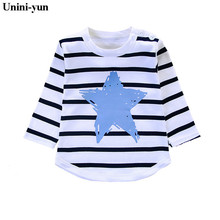 Kids Clothes Print Cotton Long Sleeve T Shirts