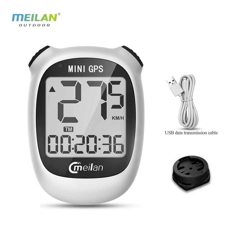 Meilan M3 Mini <font><b>GPS</b></font> <font><b>Bike</b></font> <font><b>Computer</b></font> Wireless Cycling <font><b>Computer</b></font> Bicycle Speedometer and Odometer Waterproof <font><b>Computer</b></font> <font><b>with</b></font> LCD Display image
