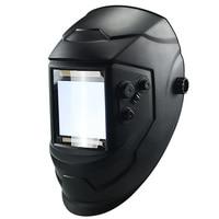 4 Arc Cap Auto Darkening Solar Grinding Helmet Welding Mask Welding Lens Lens Protecter TIG MIG Big View