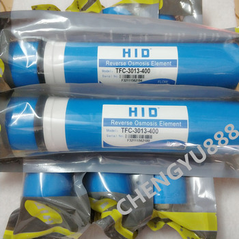 5pcs HID TFC-3013 -400G 400 gpd reverse osmosis filter Water Filters Cartridges ro system Filter Membrane 1 year supply alkaline ultraviolet reverse osmosis system replacement filter set 11 filters with uv bulb and 50 gpd ro membrane