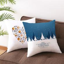45x45 см рождественские Подушки для дома украшение Санта Клауса