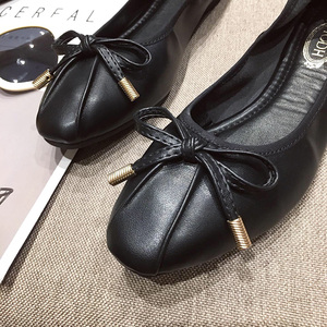 Image 4 - Giày Nữ Sapato Feminino2019 Giày Oxford Nữ Nữ Flat Giày Sang Trọng Nữ Nhà Thiết Kế Cho Nữ Ballerine Femme