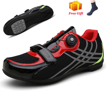 Professional Athletic Bicycle Shoes MTB Cycling Shoes Men Self-Locking Road Bike Shoes sapatilha ciclismo Women Cycling Sneakers 10