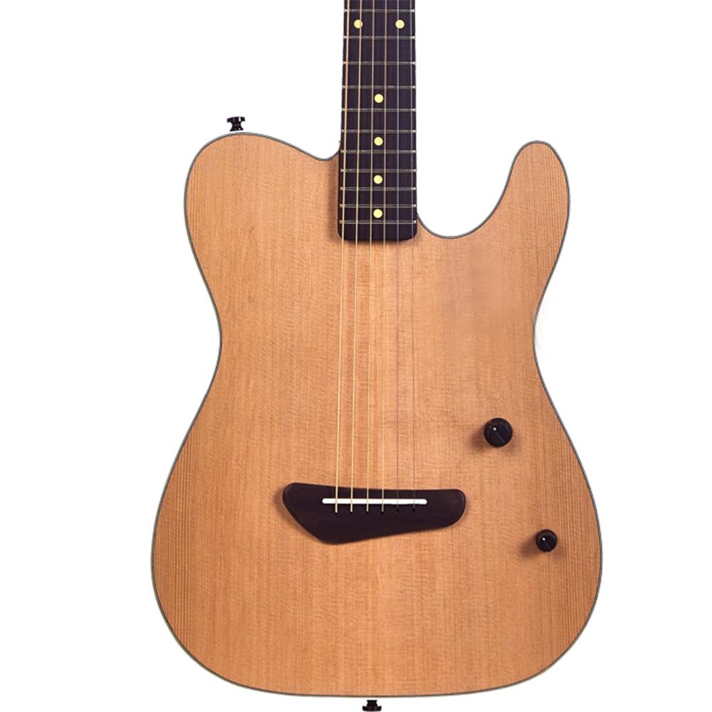 Профессиональная акустическая электрогитара telecaster классические музыкальные Струнные инструменты нейлоновая струнная гитара ras TL +