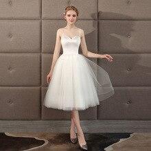Белый шорты поездка свадьба платья 2021 Aline свадьба платье vestidos de novia французский свадьба платье свадьба платья милая