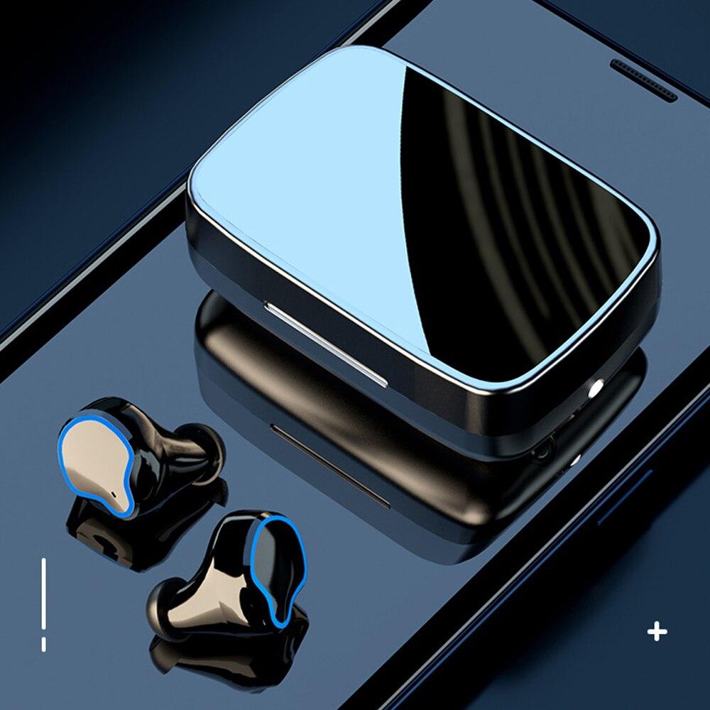 Mais novo sem fio bluetooth 5.1 fone de ouvido tws mini in-ear esporte correndo fone de ouvido à prova dhifi água 9d alta fidelidade hd smartphones estéreo fones de ouvido