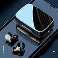 Новинка, беспроводные наушники Bluetooth 5,1, TWS, Спортивная мини-гарнитура для бега, водонепроницаемые стереонаушники 9D Hi-Fi HD для смартфонов