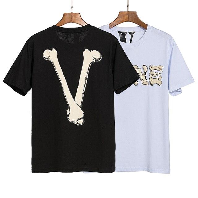 Vlone Bone Skull T-Shirt 1