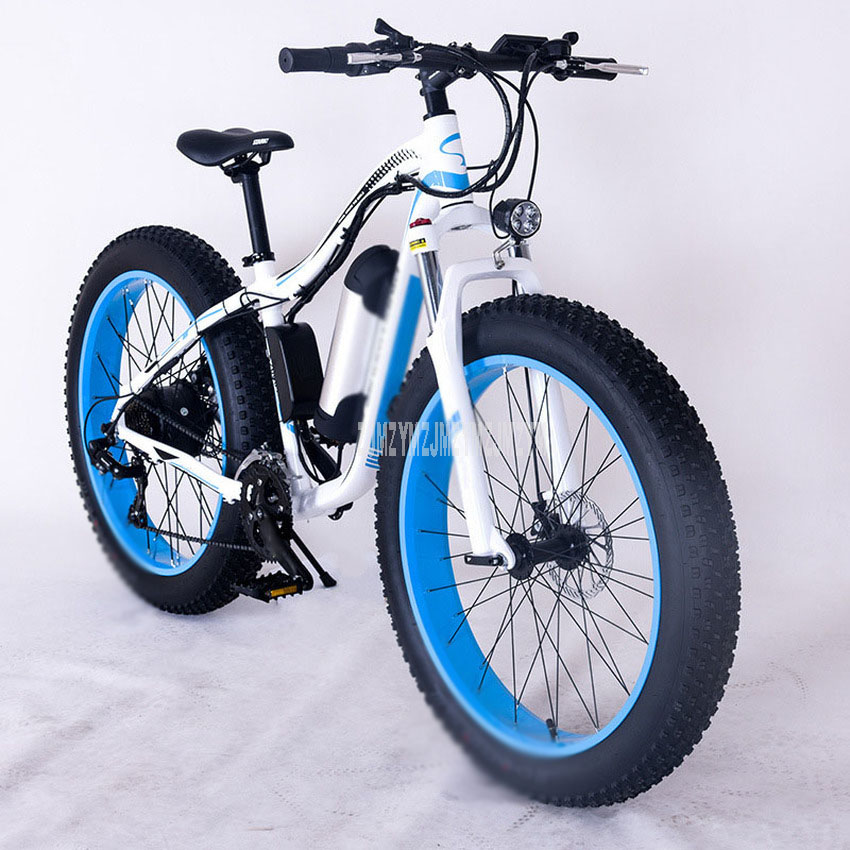 350W Ebike Beach Snow Road Electric Bicycle Bike 26 Inch Wheel Electric Snow Road Powerful Adult Electric Bike Aluminum Alloy