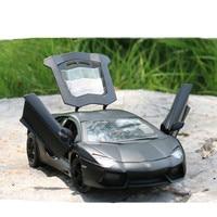 Lamborghini aventador 124 alloy car model original factory simulation children's toys collection gift accessories
