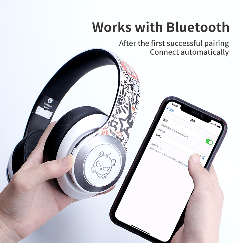 DOSII BH10 Gaming Headset Bass 7.1 Surround HIFI Stereo Noise Cancelling Headset USB Microphone LED for Laptop Tablet PC PS4