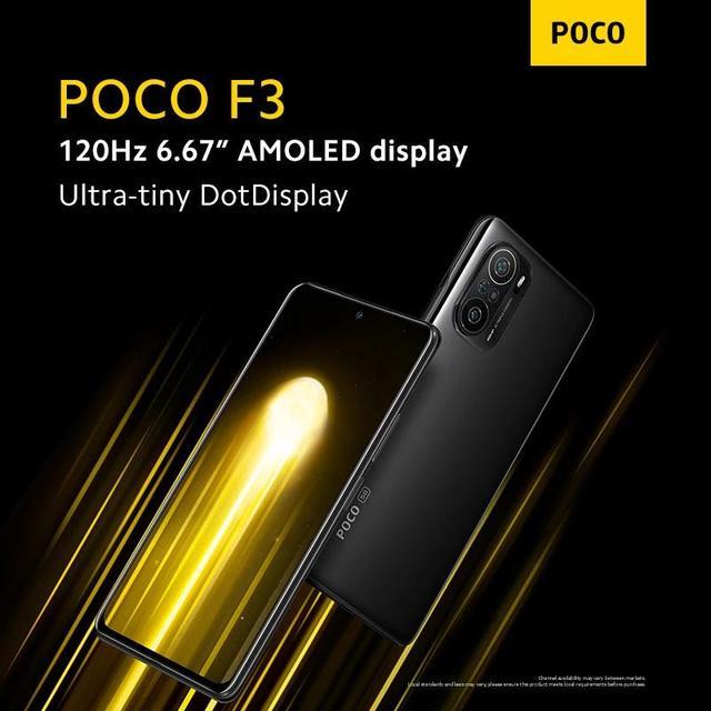 "Global Version POCO F3 NFC 5G 6GB 128GB/8GB 256GB Mobile Phone Snapdragon 870 Octa Core 6.67""120Hz E4 AMOLED Display 48MP 33W 4"
