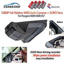 Novo! Fácil de instalar carro dvr gravador de vídeo câmera traço cam para lexus ux 2019 2020 dvr hd completo 1600p novatek 96675 + sony mx307