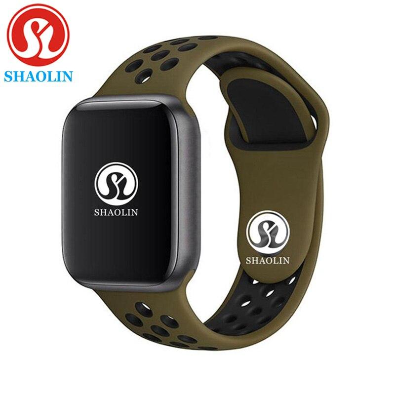 42mm Série 4 Smartwatch Bluetooth Relógio Inteligente relógio hour para ios apple iphone 5 6 6S 7 7S 8 X MAIS para Samsung Relógio Inteligente