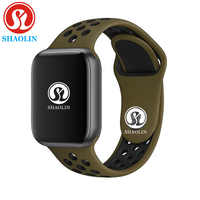 Reloj inteligente con Bluetooth de 42mm serie 4 reloj inteligente hora para ios apple iphone 5 6 6S 7 7S 8 X PLUS para reloj inteligente Samsung