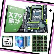 Брендовая материнская плата со слотом m2 huanan zhi x79 процессор