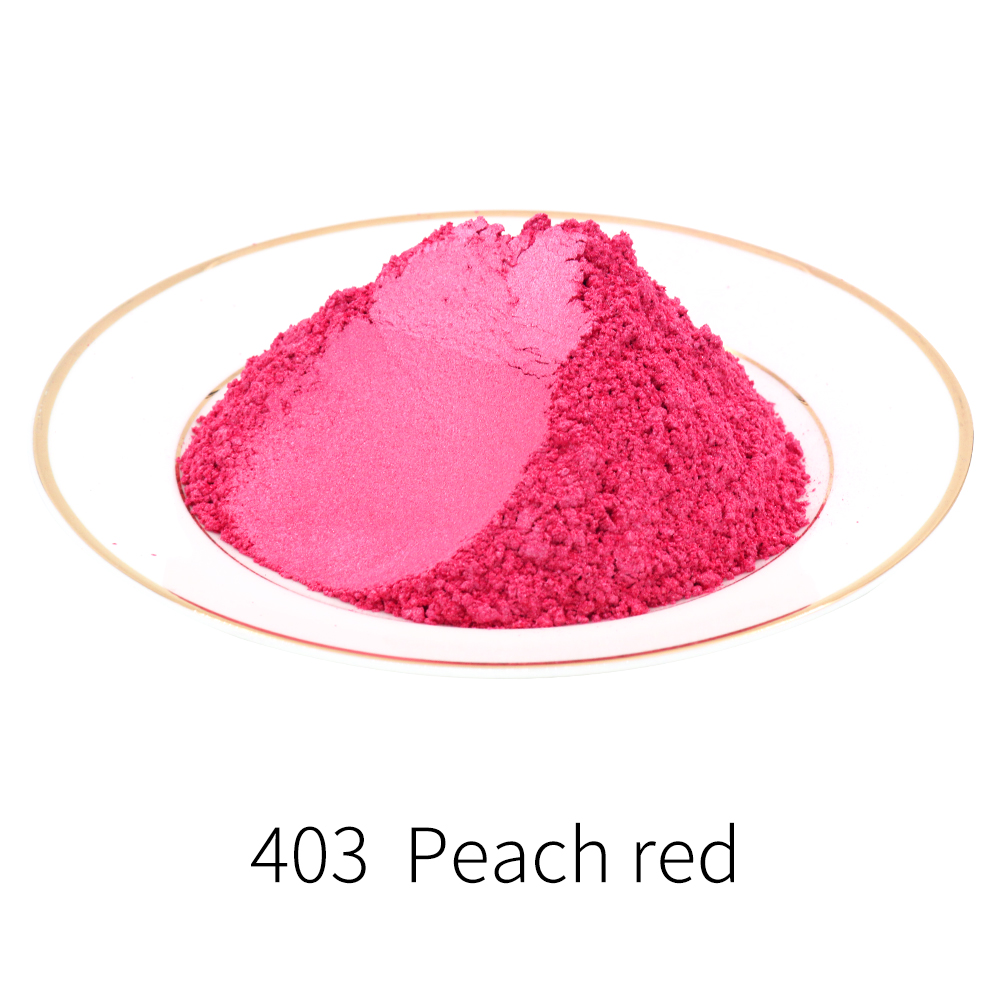 Pearl Powder Coating Natural Mineral Mica Dust Type403 Pearlized Pigment DIY Dye Colorant 10/50g For Soap Eye Shadow Cars Crafts