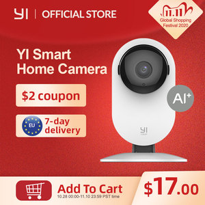 Image 1 - YI Home 1080p Camera 2.4G Wifi Indoor ip Camera AI Human detection Night vision Activity alerts Cameras for home/Cats/pets/Cloud